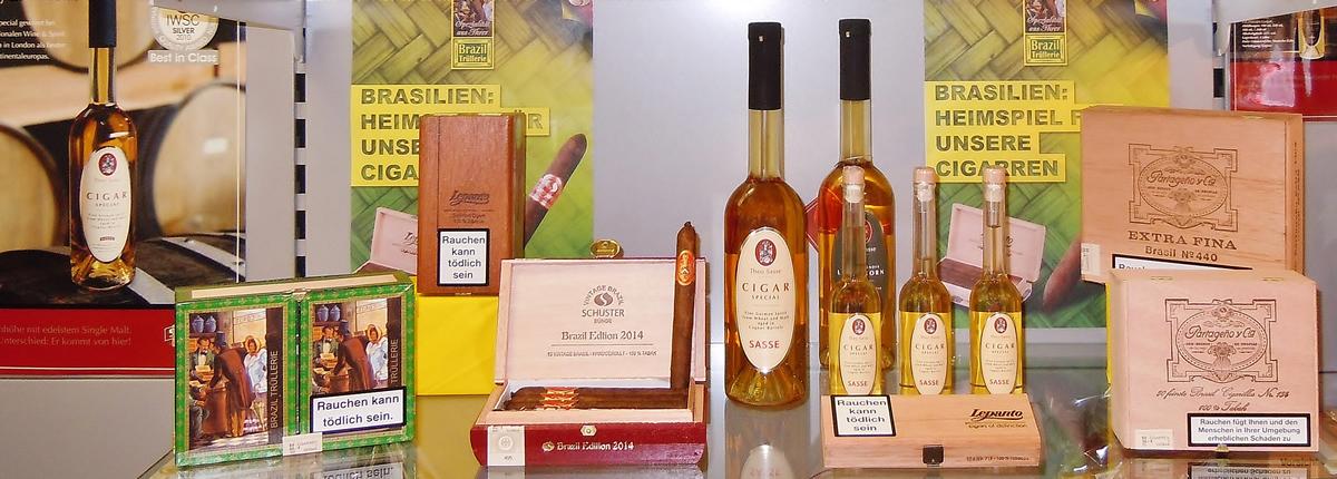 Zigarren und Whisky zur WM in Brasilien